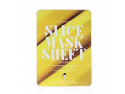 Kocostar Plátková maska Banán - (Slice Sheet Mask)