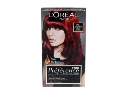 LOREAL Préférence Féria - (P37 Pure Plum) barva na vlasy
