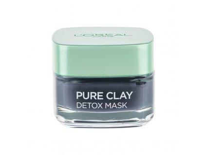 LOREAL Pure Clay Detox Mask - pleťová maska
