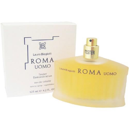 Laura Biagiotti Roma Uomo - (TESTER) toaletní voda M Objem: 125 ml