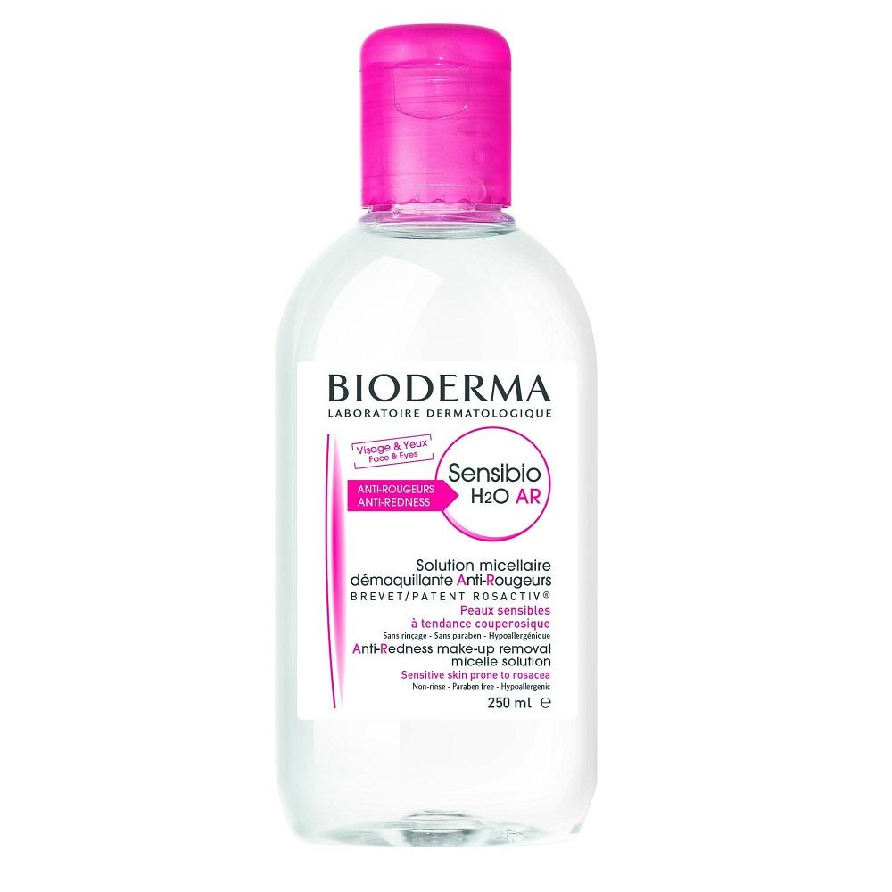 Bioderma Sensibio - (AR H2O) Čistící a odličovací micelární voda na citlivou pleť W Objem: 250 ml