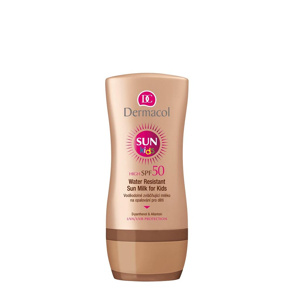 Dermacol Sun - Voděodolné mléko na opalování pro děti SUN SPF 50 U Objem: 200 ml