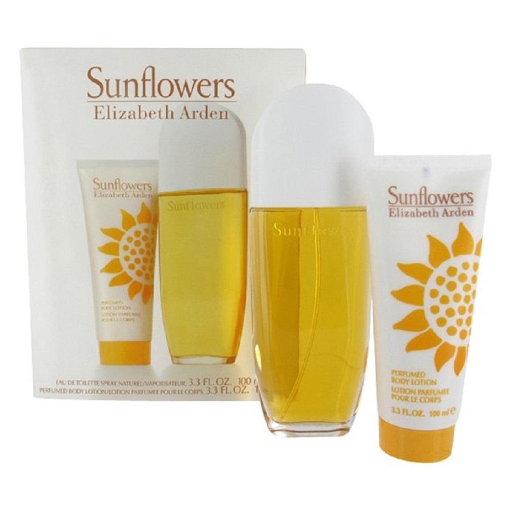 Elizabeth Arden Sunflowers - toaletní voda 100 ml + tělové mléko 100 ml Objem: 100 ml