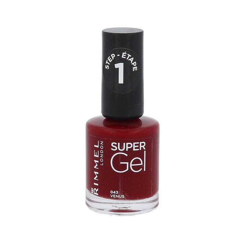 Rimmel London Super Gel STEP1 - (043 Venus) lak na nehty W Objem: 12 ml