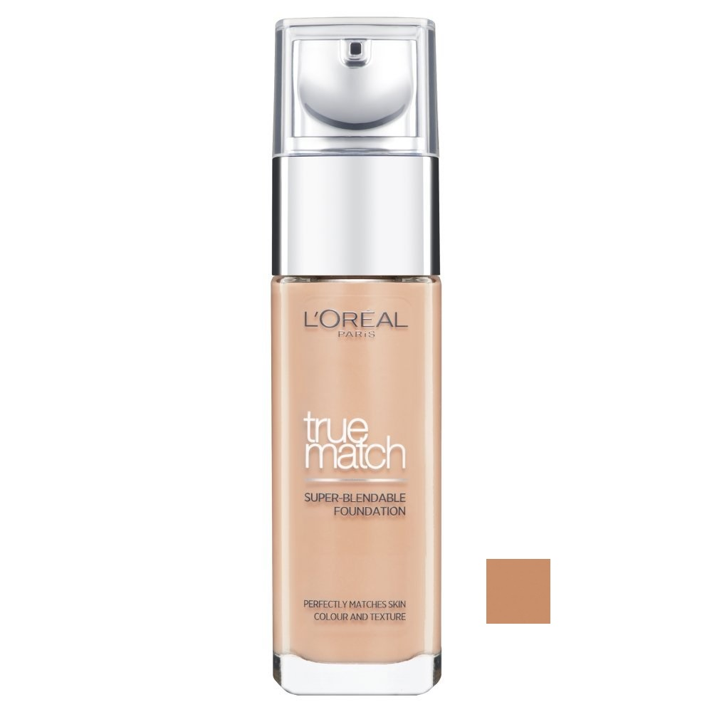 LOREAL True Match - Super Blendable Foundation SPF17 - (N3 Beige) Make-up W Objem: 30 ml