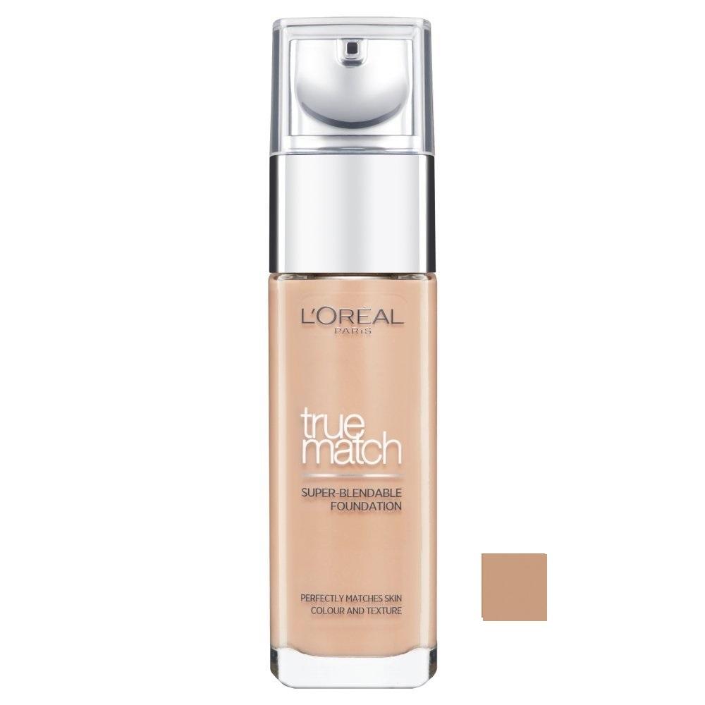 LOREAL True Match - Super Blendable Foundation SPF17 - (N6 Honey) Make-up W Objem: 30 ml