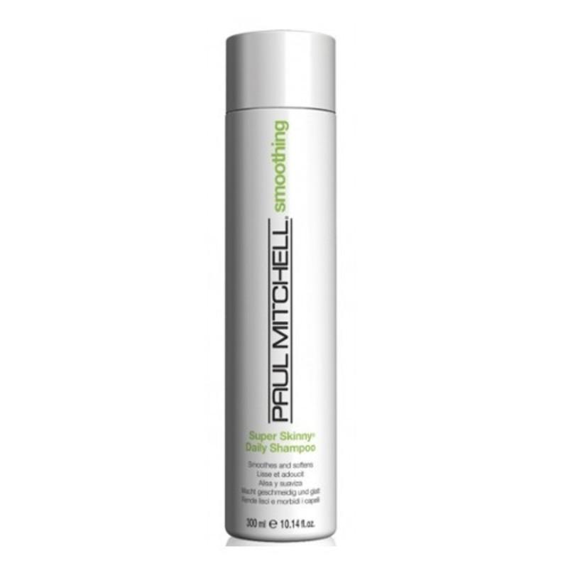Paul Mitchell Uhlazující šampon pro nepoddajné vlasy Smoothing - (Super Skinny Daily Shampoo) W Objem: 300 ml