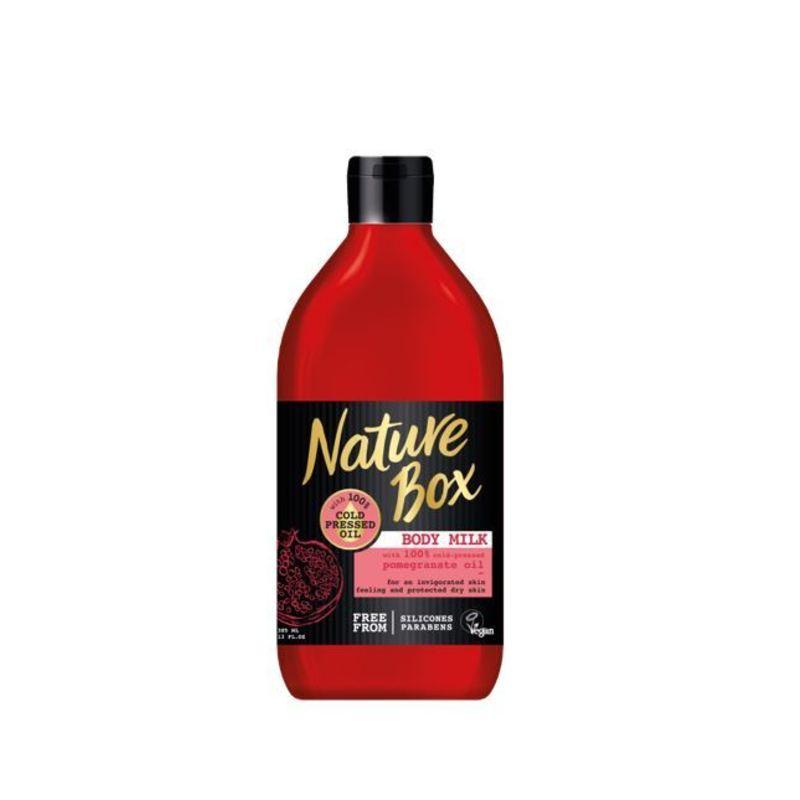 Nature Box Vyživující tělové mléko granátové jablko - (Body Milk) W Objem: 385 ml