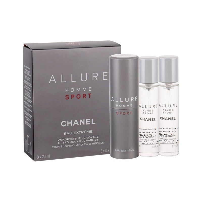 Chanel Allure Homme Sport Eau Extreme - toaletní voda M Objem: 3x20 ml