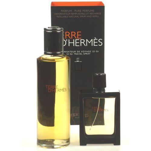 Hermes Terre D´Hermes Parfum - parfém 30 ml (naplnitelný flakon) + parfém 125 ml (náplň) dárková sada M Objem: 125 ml