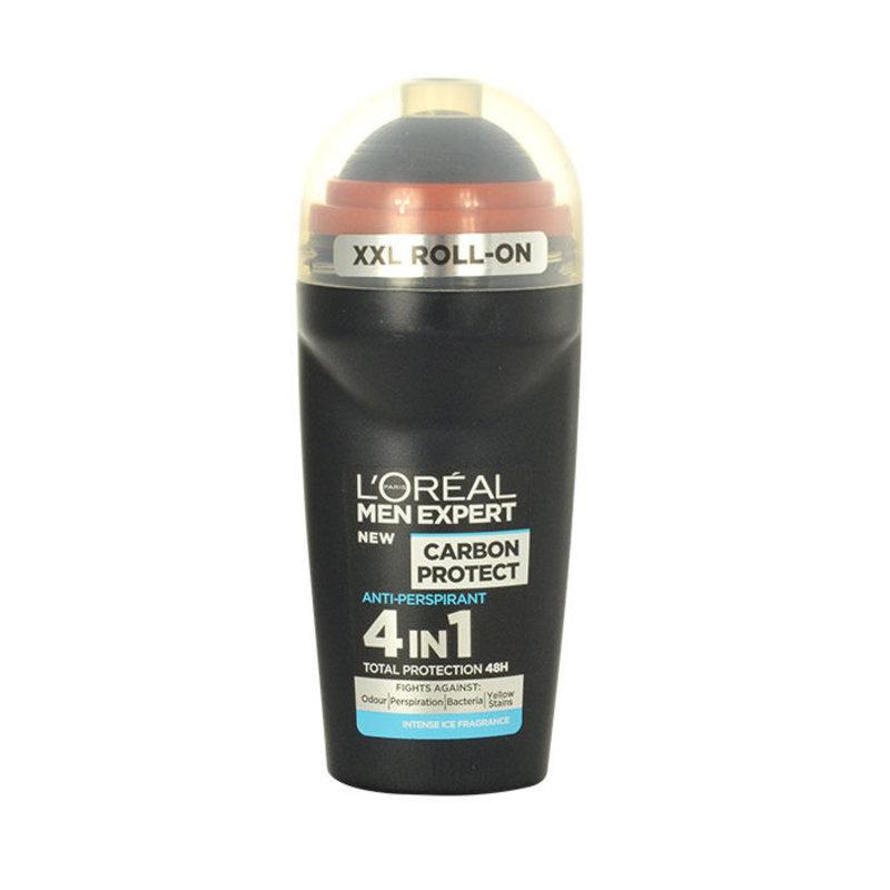 LOREAL Men Expert Carbon Protect - antiperspirant 4in1 M Objem: 50 ml
