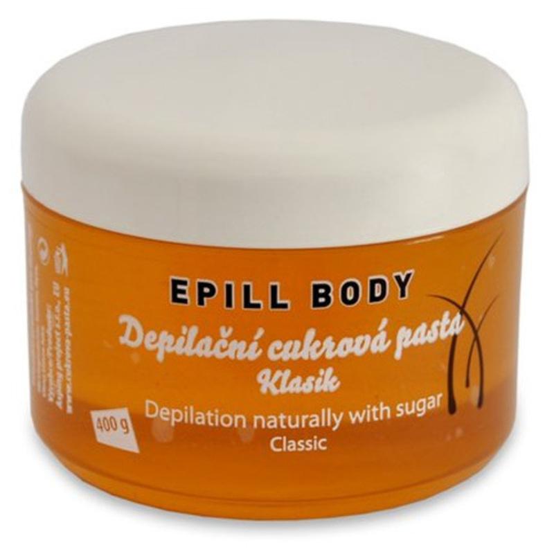Ostatní Epill Body - Depilační cukrová pasta Klasik W Objem: 400 ml