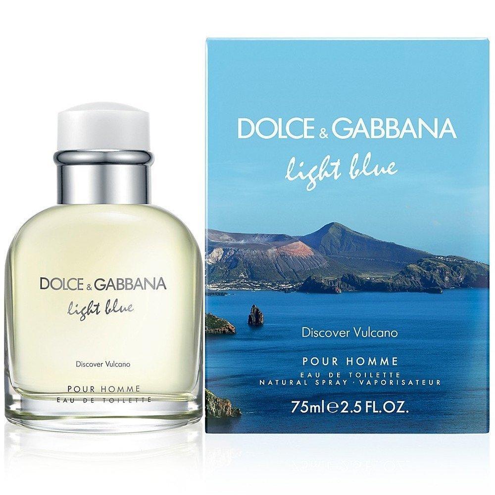 Dolce & Gabbana Light Blue Discover Vulcano - toaletní voda M Objem: 125 ml