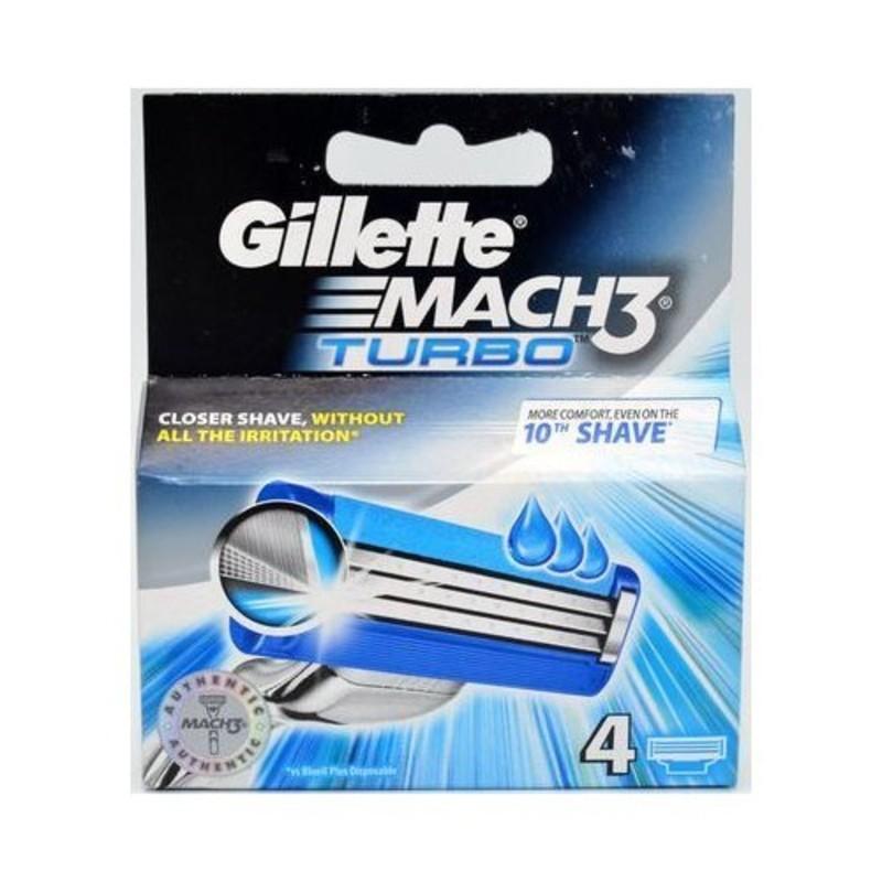 Gillette Náhradní hlavice Gillette Mach3 Turbo M Objem: 8 ks ml