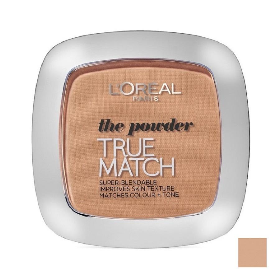LOREAL True Match - Super Blendable Powder - (D5-W5 Golden Sand) Pudr W Objem: 9 ml