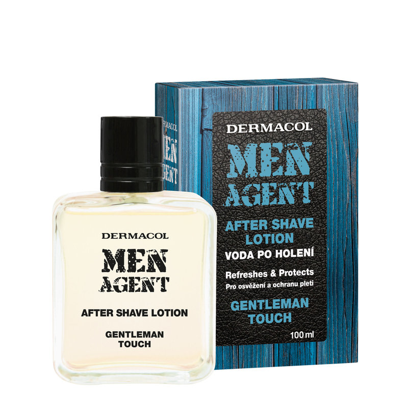 Dermacol Men Agent Gentleman Touch - voda po holení M Objem: 100 ml