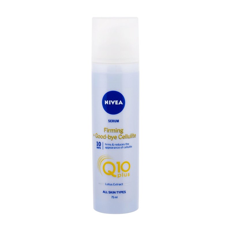 Nivea Q10 Energy+ Firming Anti Cellulite Serum - proti celulitidě a striím W Objem: 75 ml