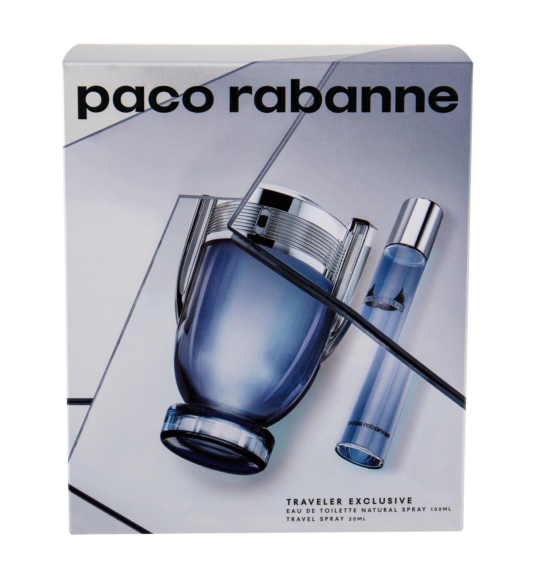 Paco Rabanne Invictus - toaletní voda 100 ml + toaletní voda 20 ml M Objem: 100 ml