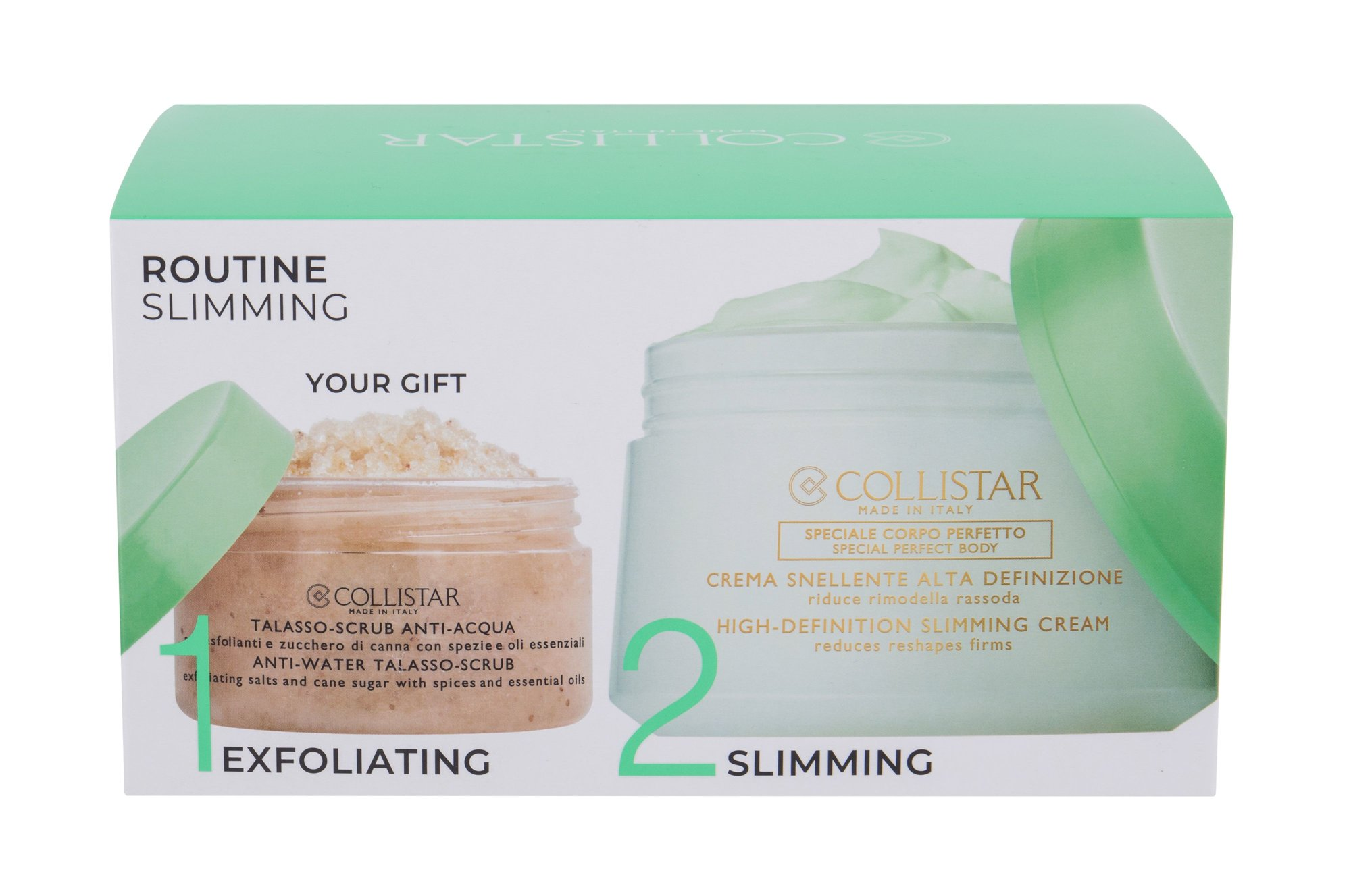 Collistar Special Perfect Body High-Definition Slimming Cream - tělový krém 400 ml + tělový peeling