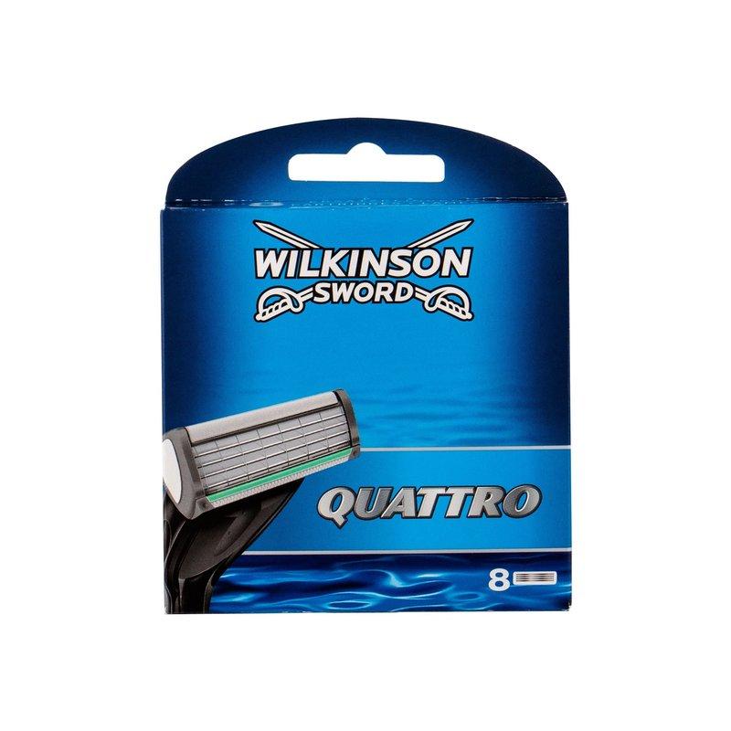 Wilkinson Sword Quattro - náhradní břit M Objem: 8 ml
