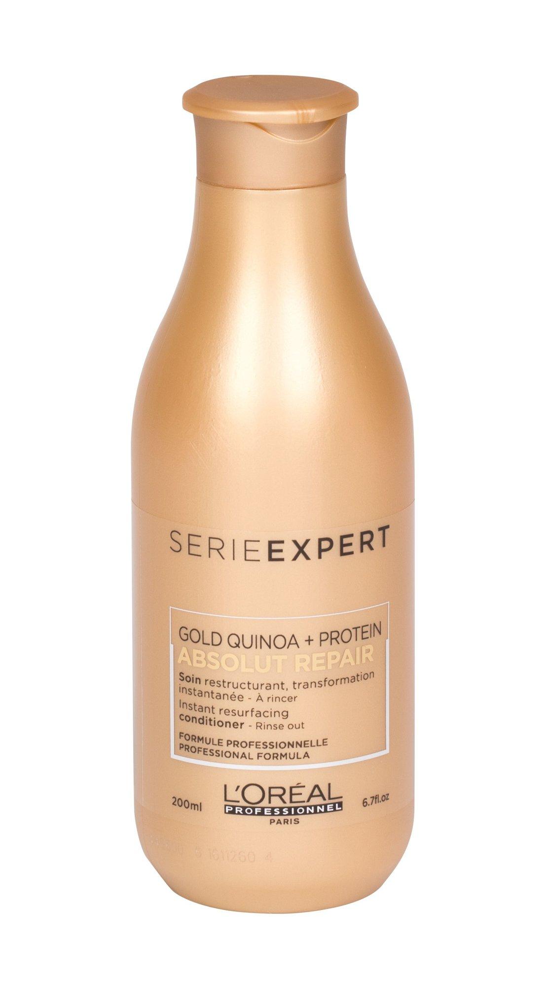 L´Oréal Professionnel Série Expert Absolut Repair Gold Quinoa + Protein - kondicionér W Objem: 200 m