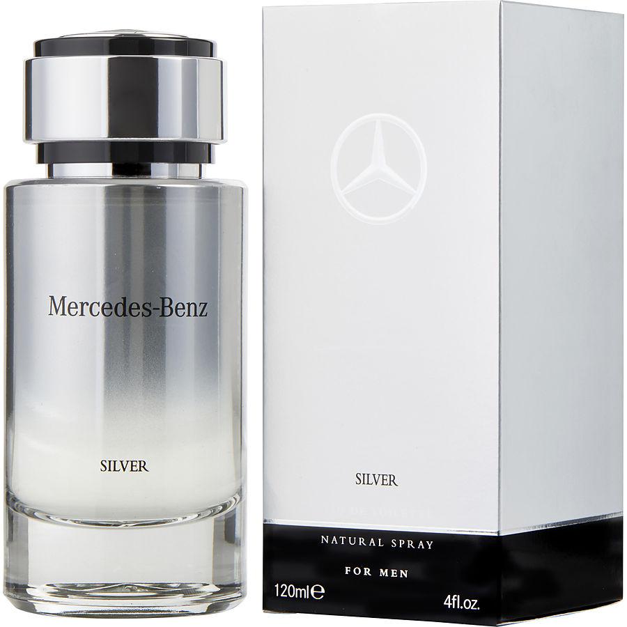 Mercedes Benz Mercedes Benz Silver - toaletní voda M Objem: 120 ml