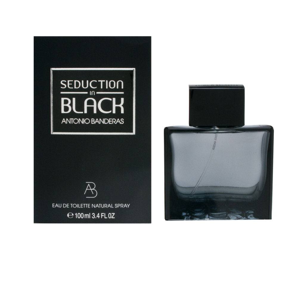 Antonio Banderas Seduction in Black - toaletní voda M Objem: 200 ml