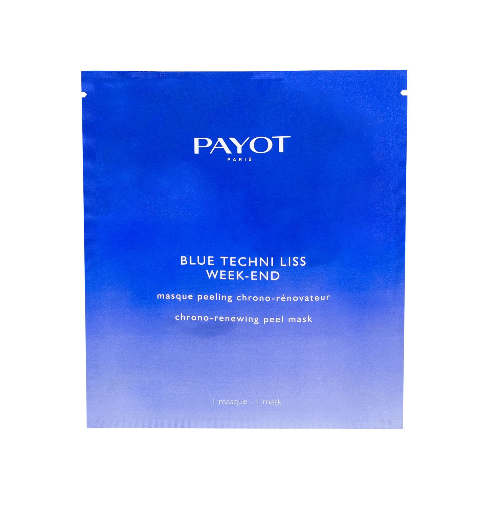 Payot Blue Techni Liss Week-End - pleťová maska W Objem: 1 ml
