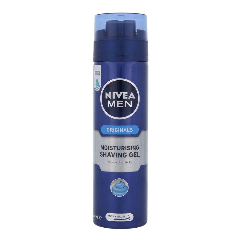 Nivea Men Original Moisturising - gel na holení M Objem: 200 ml