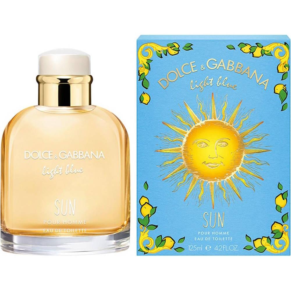 Dolce & Gabbana Light Blue Sun Limited Edition Pour Homme - toaletní voda M Objem: 125 ml