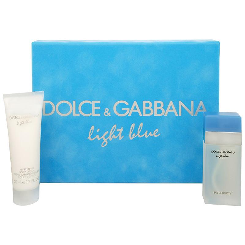 Dolce & Gabbana Light Blue - EDT 25 ml + tělový krém W Objem: 50 ml