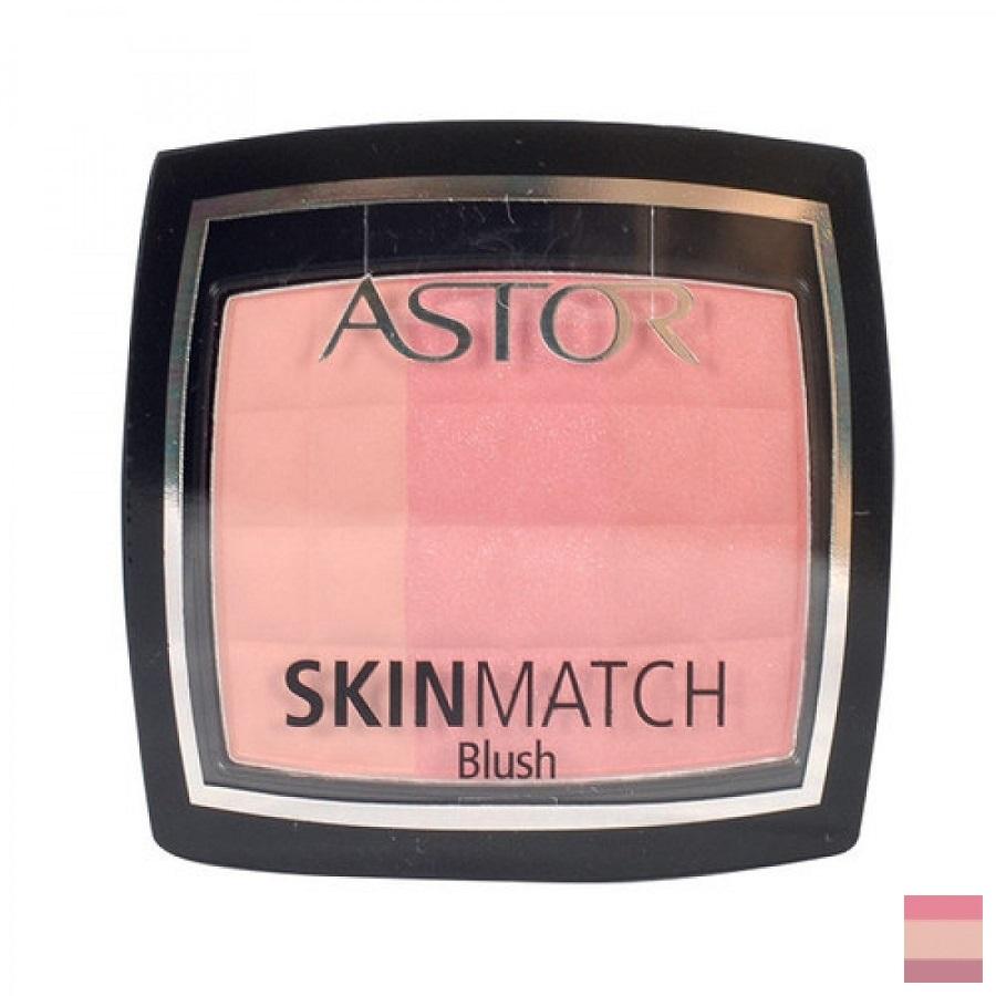 Astor Skin Match Blush - (001 Rosy Pink) Tvářenka W Objem: 8,25g ml