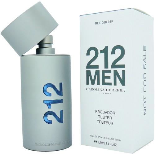 Carolina Herrera 212 for Men - (TESTER) toaletní voda M Objem: 50 ml