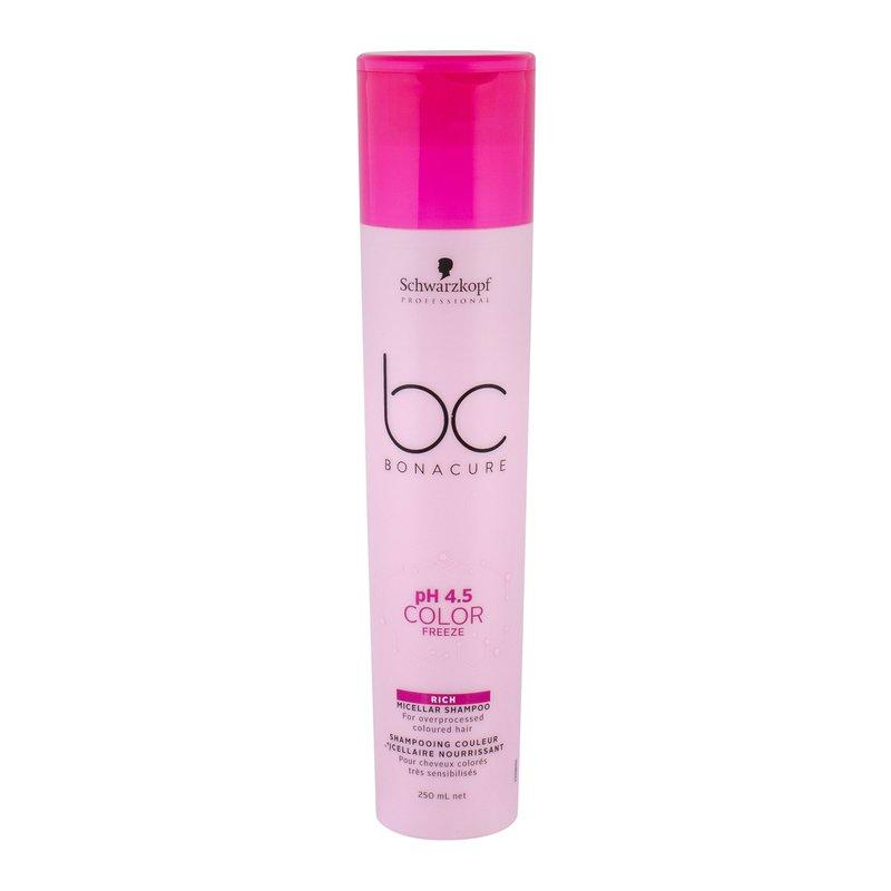 Schwarzkopf BC Bonacure pH 4.5 Color Freeze Rich - Šampon W Objem: 250 ml