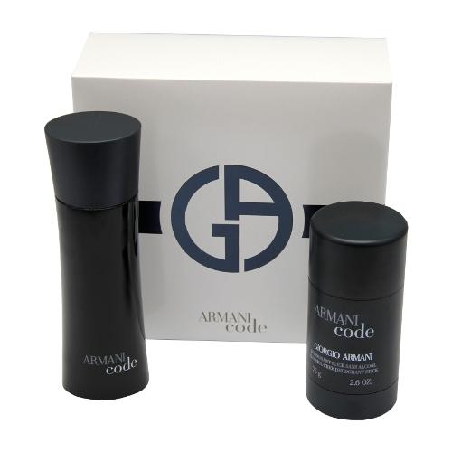 Giorgio Armani Black Code - toaletní voda 75 ml + deostick 75 ml dárková sada M Objem: 75 ml