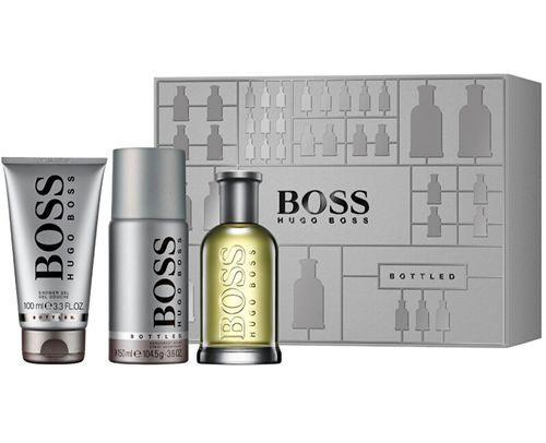 Hugo Boss Boss Bottled No.6 toaletní voda 100 ml+Deospray 150 ml+Sprchový gel 100 ml M dárková sada M Objem: 100 ml