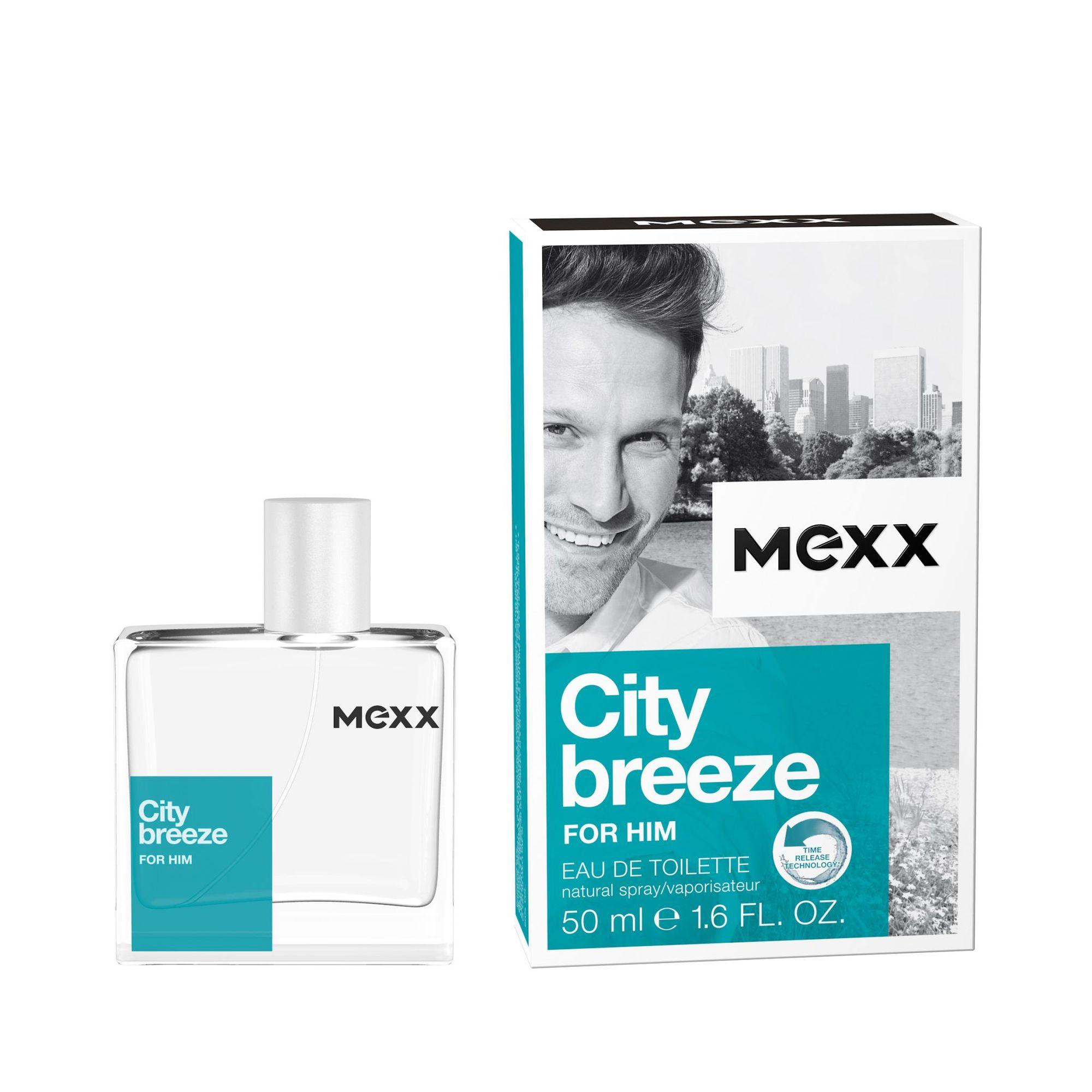 Mexx City Breeze For Him - toaletní voda M Objem: 30 ml