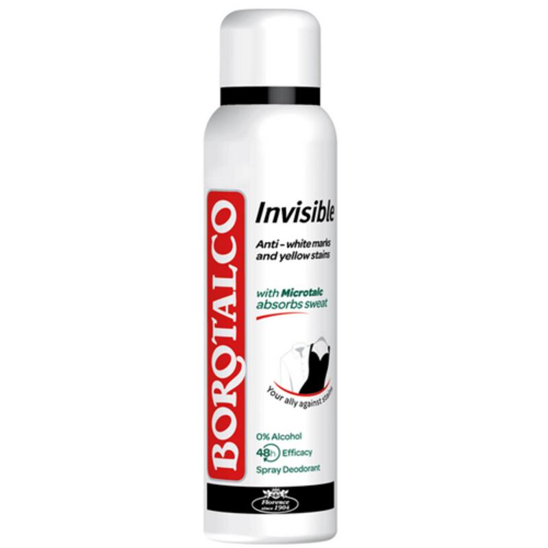 Borotalco Deodorant ve spreji Invisible Objem: 150 ml