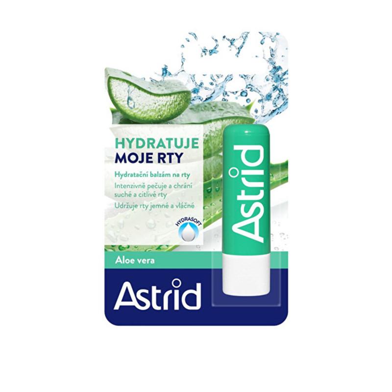 Astrid Hydratační balzám na rty s aloe vera W Objem: 4,8 ml