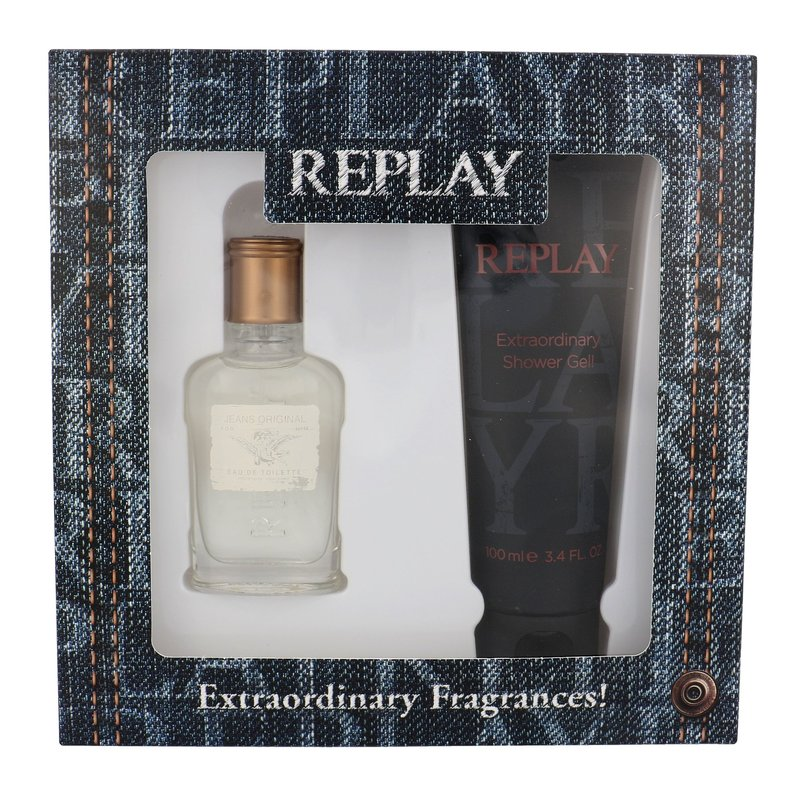 Replay Jeans Original! For Him - toaletní voda M Objem: 75 ml