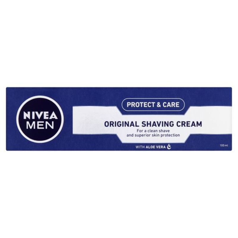 Nivea Krém na holení Original - (Mild Shaving Cream) M Objem: 100 ml