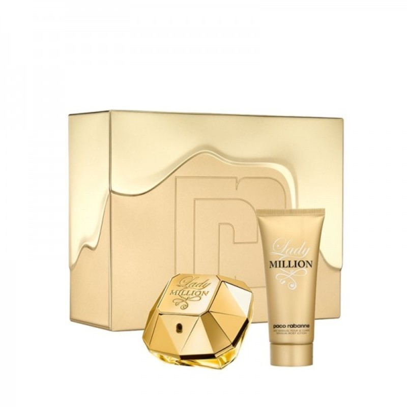 Paco Rabanne Lady Million - EDP 80 ml + tělové mléko W Objem: 100 ml