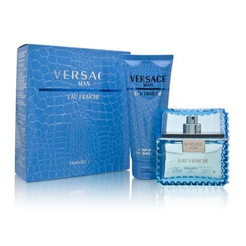 Versace Man Eau Fraiche - toaletní voda 100 ml + sprchový gel 150 ml dárková sada M Objem: 100 ml