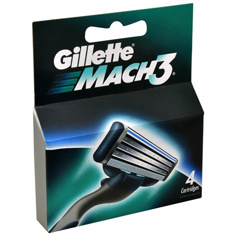 Gillette Náhradní hlavice Gillette Mach3 Objem: 8 ks ml