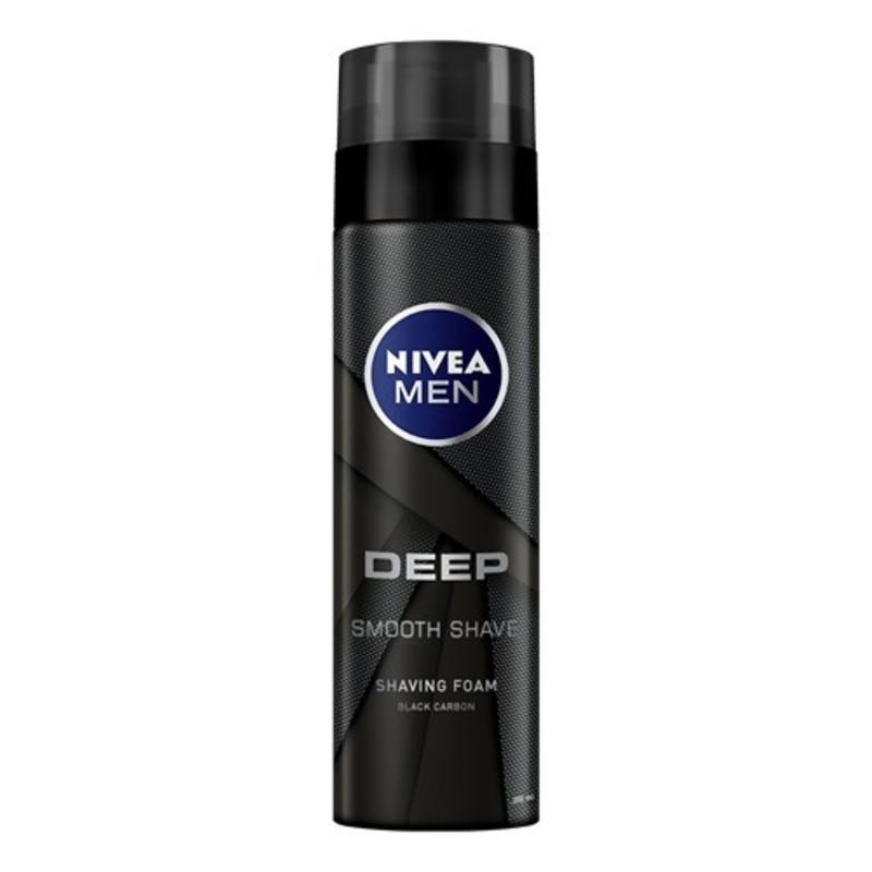 Nivea Pěna na holení pro muže Deep - (Smooth Shave) M Objem: 200 ml