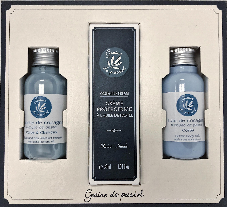 Potěšte sebe nebo své nejbližší dárkovou sadou přírodní kosmetiky Graine de pastel