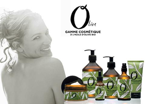 přírodní kosmetika s olivovým olejem