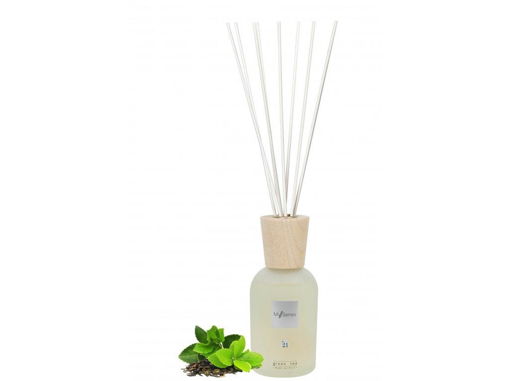 My Senso - Aromatický difuzér Premium N°21 Green Tea 240ml (Zelený čaj)
