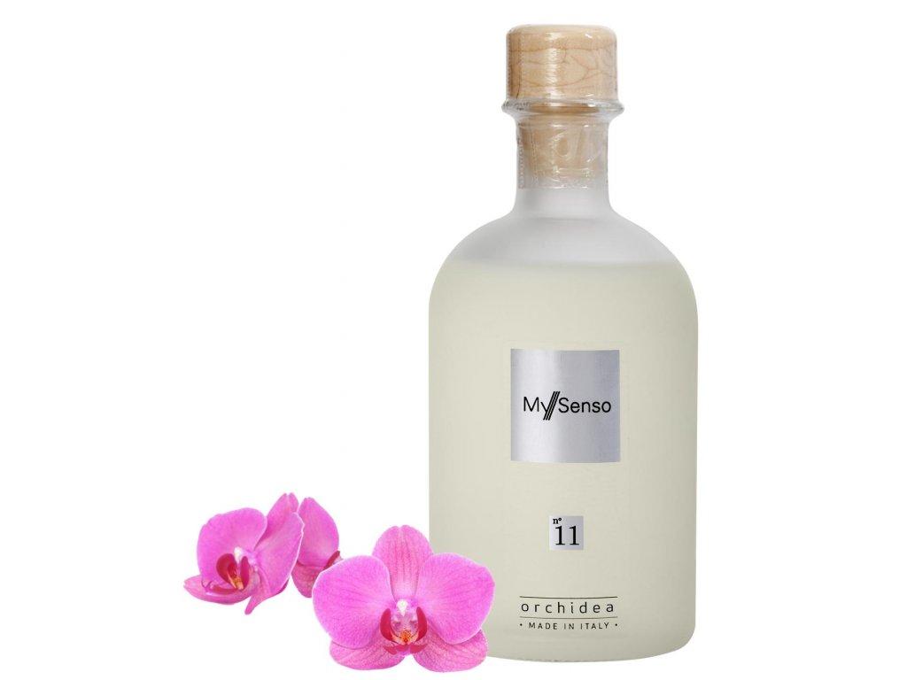 My Senso - Náhradní náplň pro aromatický difuzér N°11 Orchidea (Orchidej), 240ml