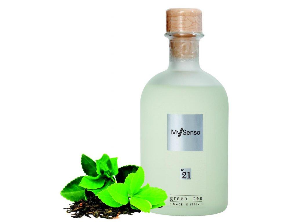 My Senso - Náhradní náplň pro aromatický difuzér N°21 Green Tea (Zelený čaj), 240ml
